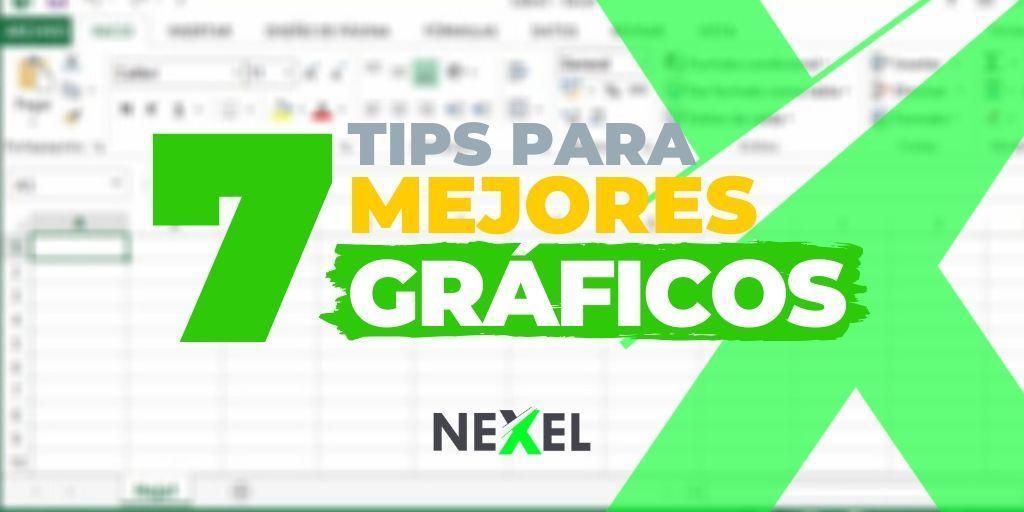 7 tips para crear mejores gráficos en Excel