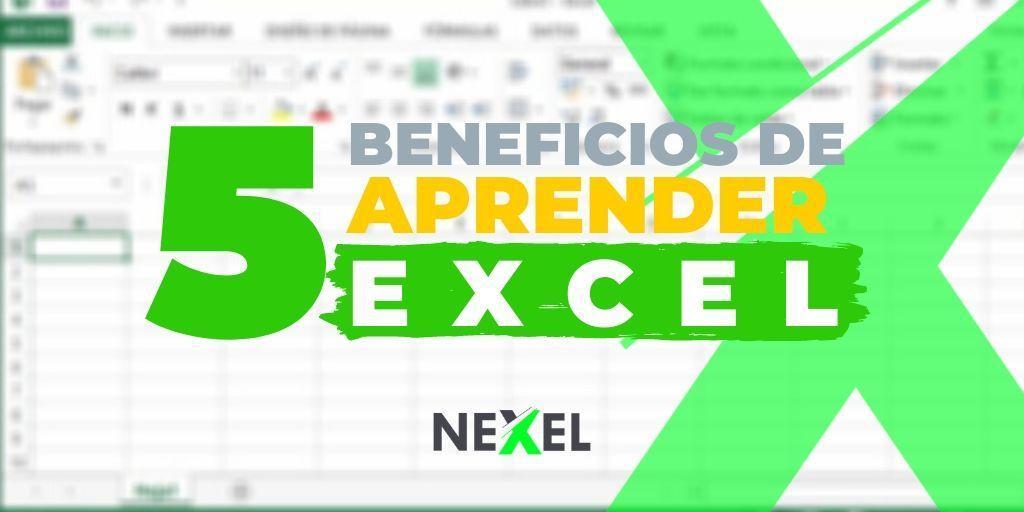 5 beneficios de aprender Excel