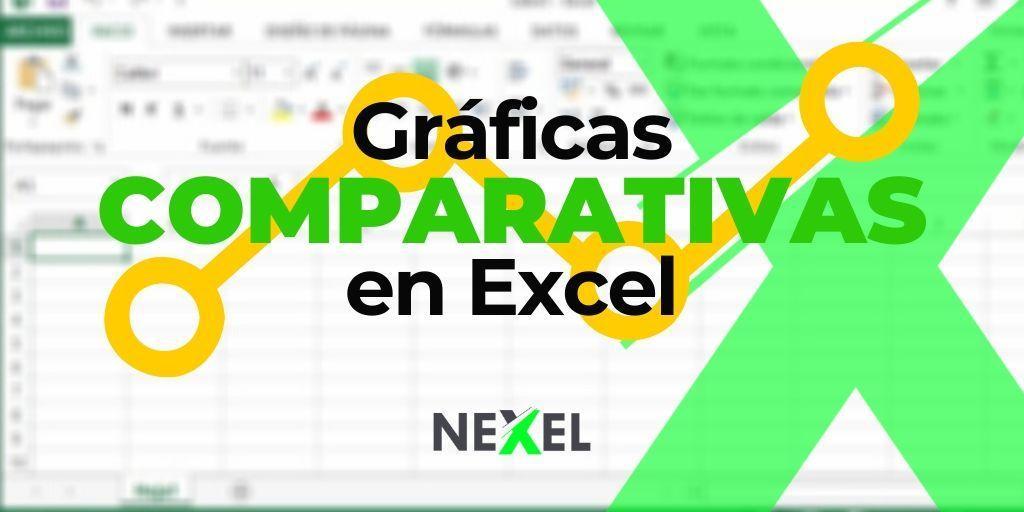 GUÍA de las mejores GRÁFICAS COMPARATIVAS en Excel